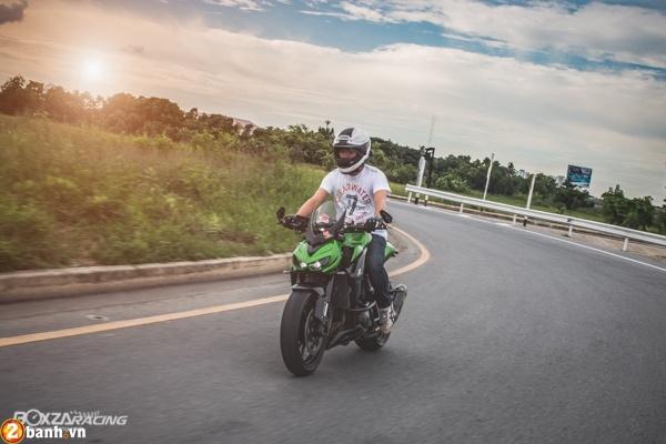 Kawasaki Z1000 2015 do day phong cach cua biker Thai - 7