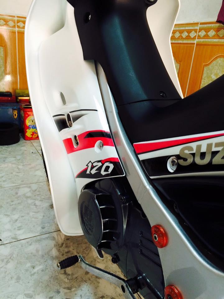Suzuki Satria do kieng phien ban the thao - 3