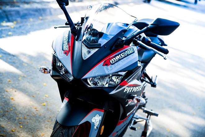 Yamaha R3 son tem dau sieu ngau cua biker Vinh Long - 3