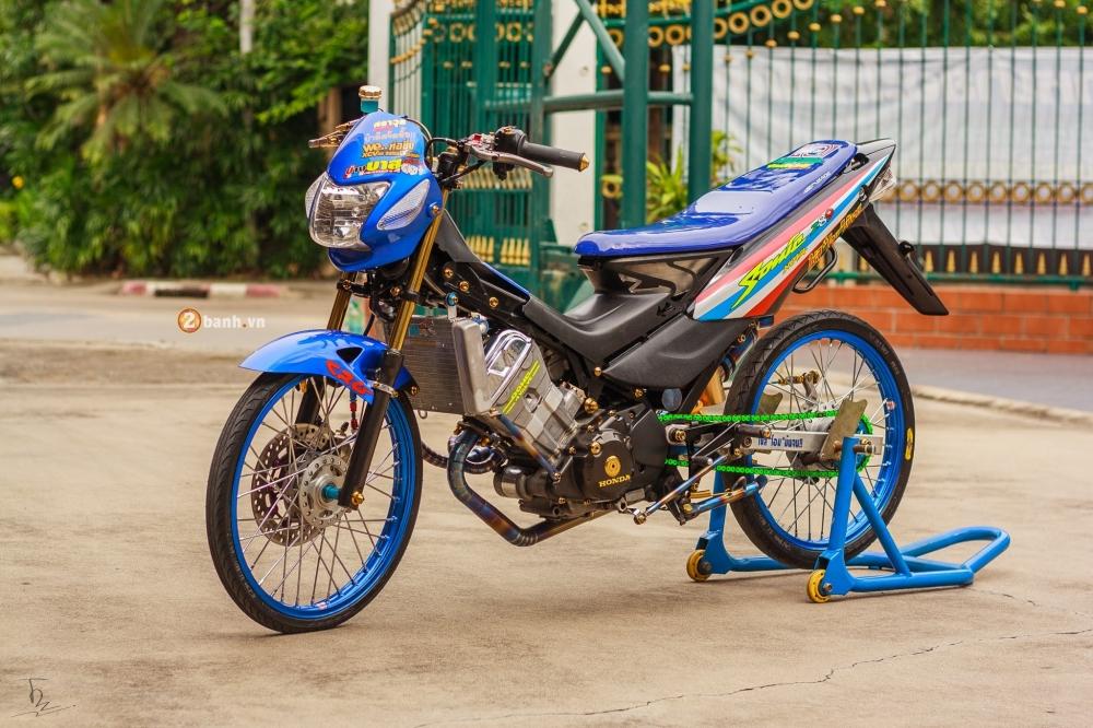 Honda Sonic 125 do chat lu va phong cach cua dan choi Thai