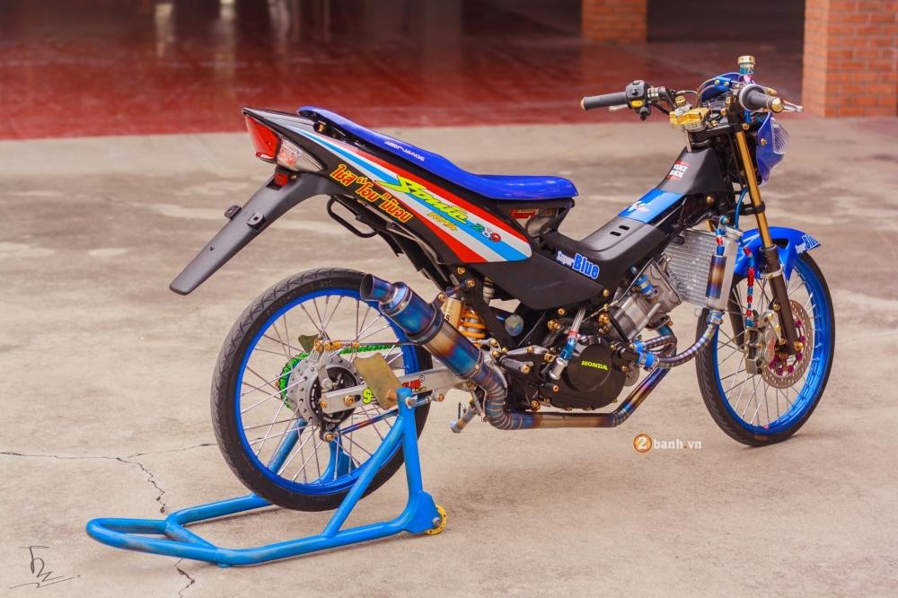 Honda Sonic 125 do chat lu va phong cach cua dan choi Thai - 16