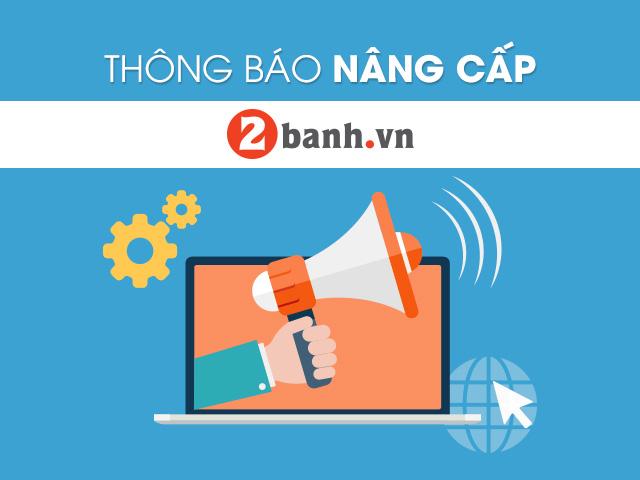 Thong bao Nang cap giao dien khu vuc kinh doanh 2banhvn
