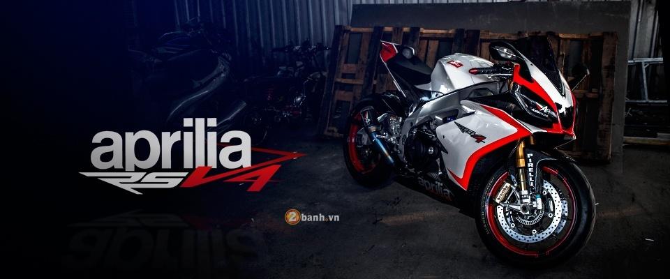 Aprilia RSV4 chat lu voi ban do day phong cach cua biker Thai