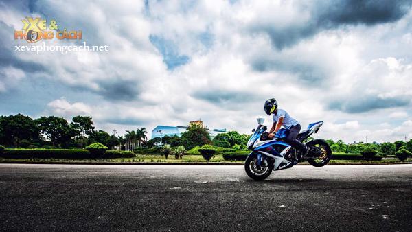 Cam nhan cua biker Thanh Hoa ve xe Suzuki GSXR huyen thoai - 4