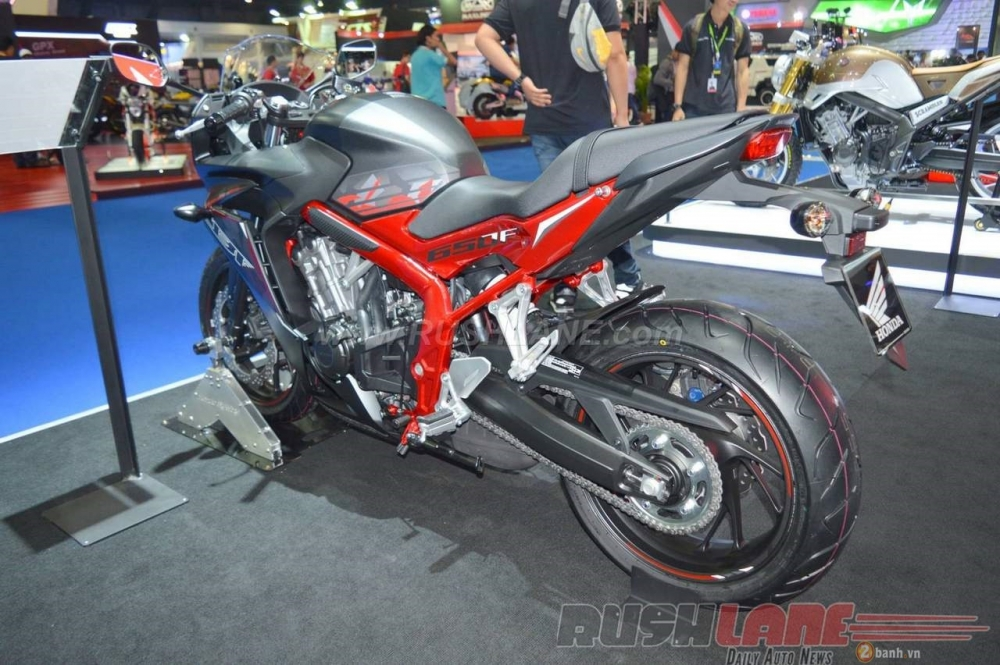 Can canh Honda CBR650F phien ban dac biet tai Bangkok Motor Show 2016 - 5