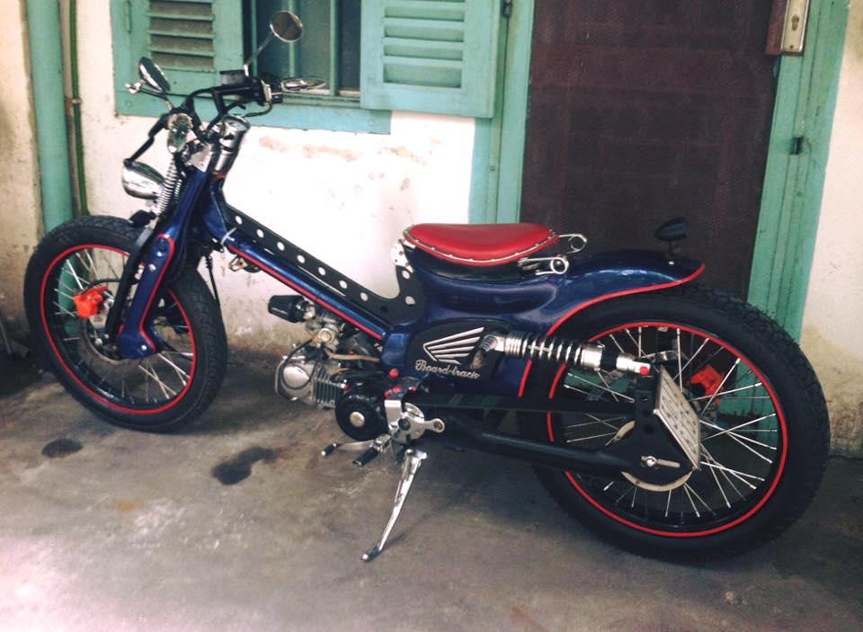 Can canh sieu Cub do bobber full 125cc