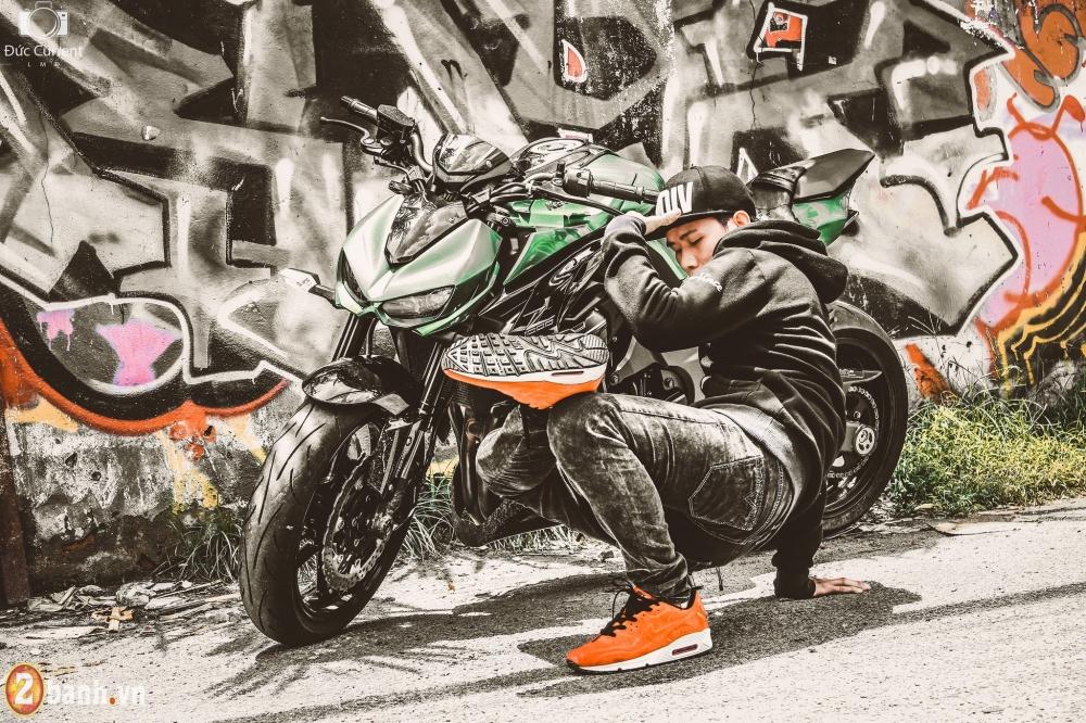 Chien binh duong pho Kawasaki Z1000 va vu dieu duong pho Hip Hop - 3