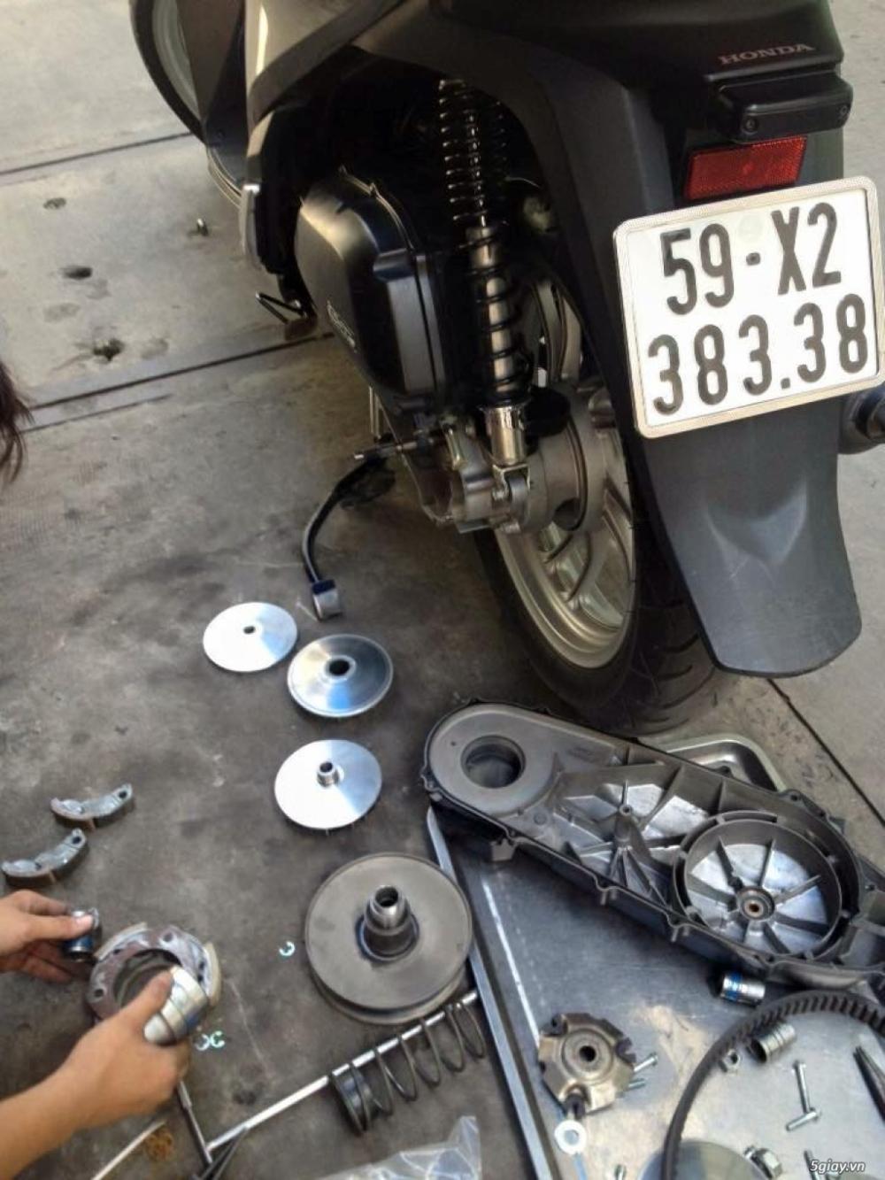 Chuyen Do Noi Xe Tay Ga Full Noi Noi Zin Bao Duong Ve Sinh Noi Cho Yamaha Honda Piago - 17