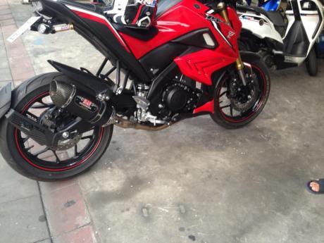 Yamaha Xabre dat maxspeed 152kmh ngoai that te - 5