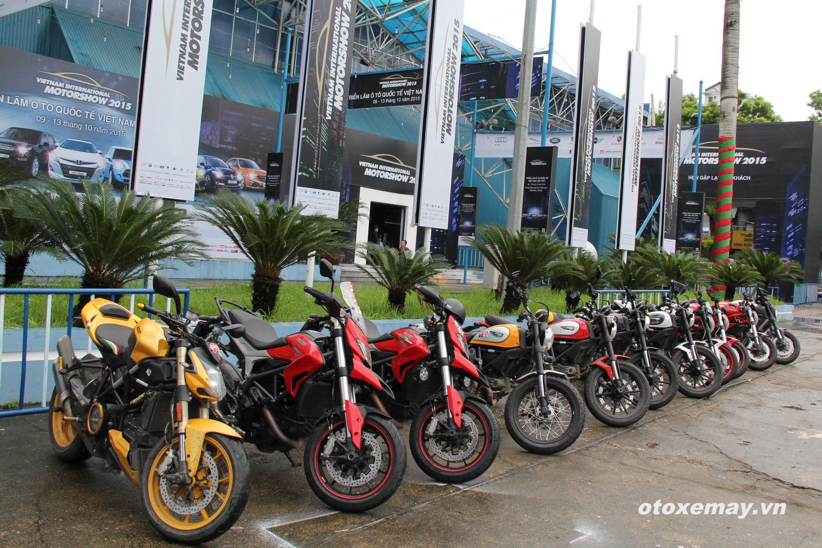DOC Mien Bac chinh thuc nhap hoi Ducatisti the gioi - 2