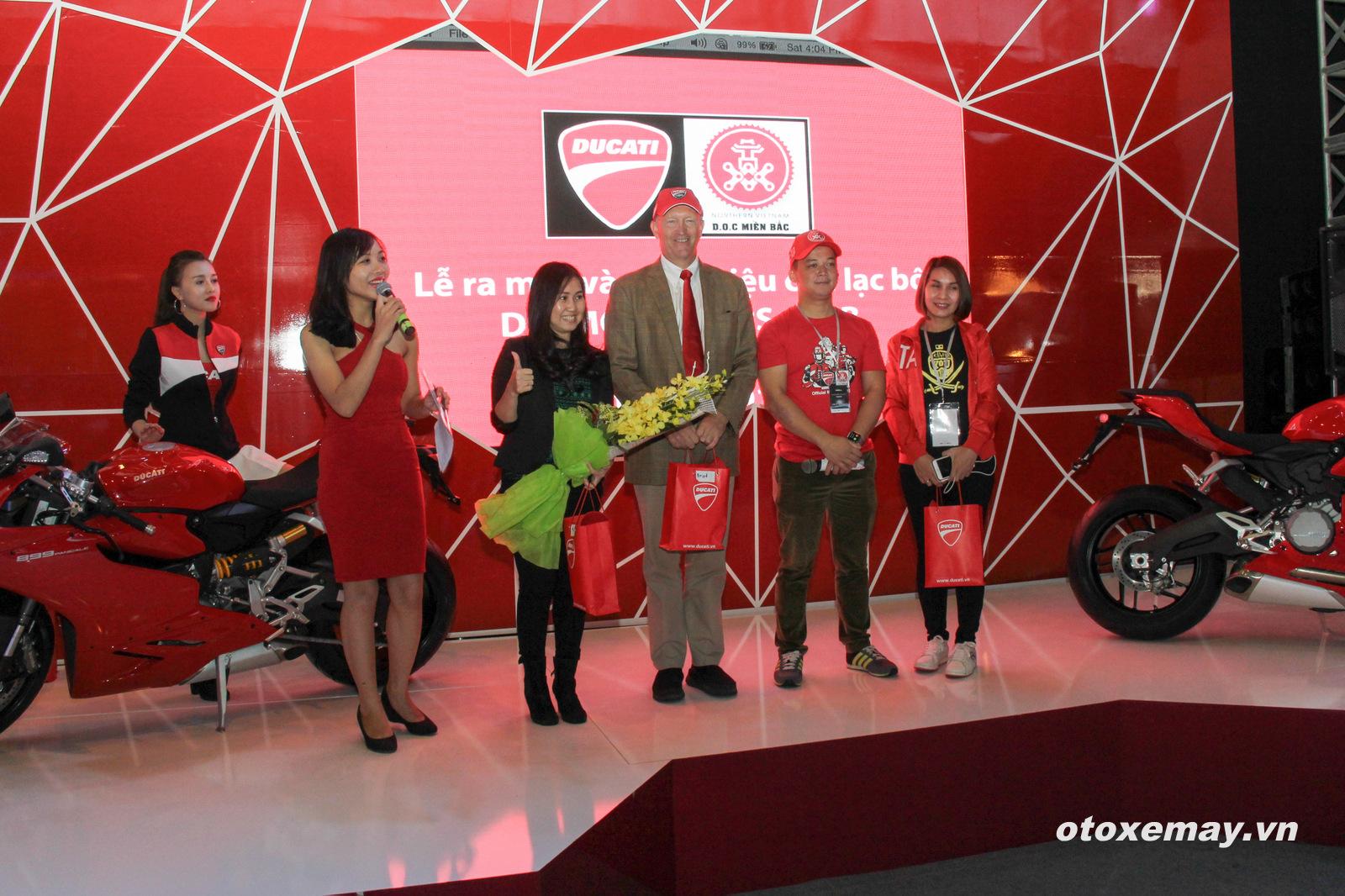 DOC Mien Bac chinh thuc nhap hoi Ducatisti the gioi - 8