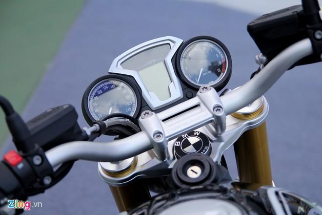 Dan moto BMW R NineT hoi tu ve Vietnam Motorbike Festival 2015 - 9