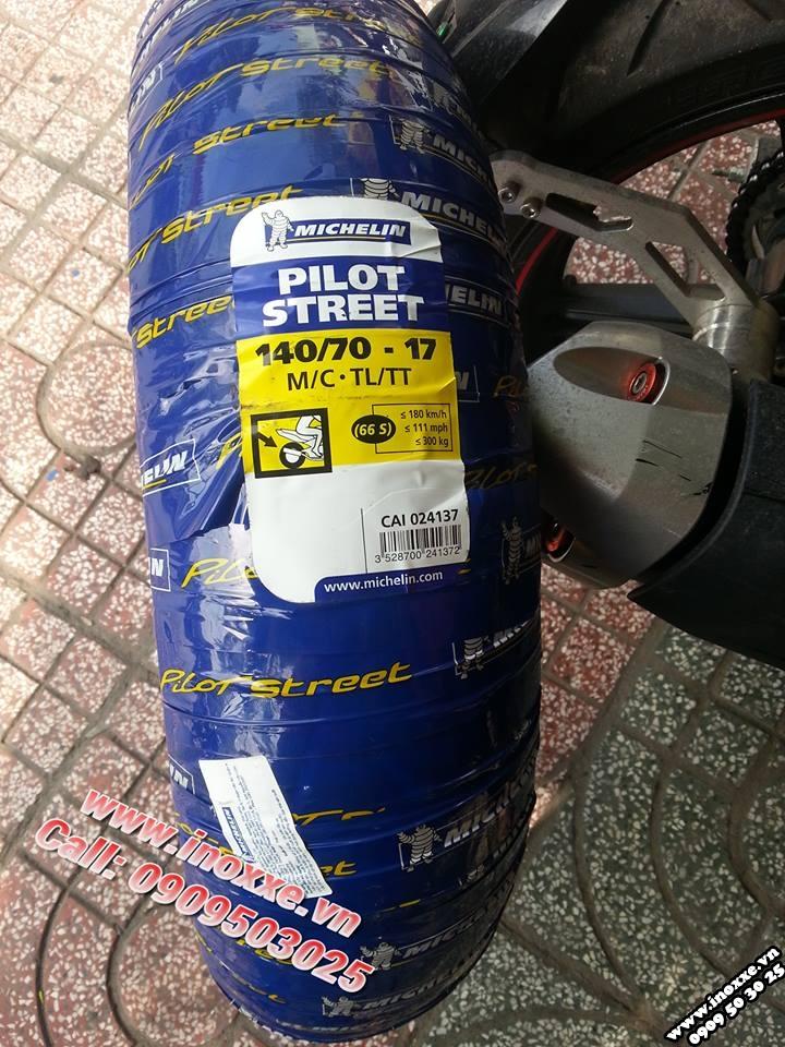 Do choi Exciter 150 Duoi ca CNC Lop sau Michelin Chan bun truoc indo - 4