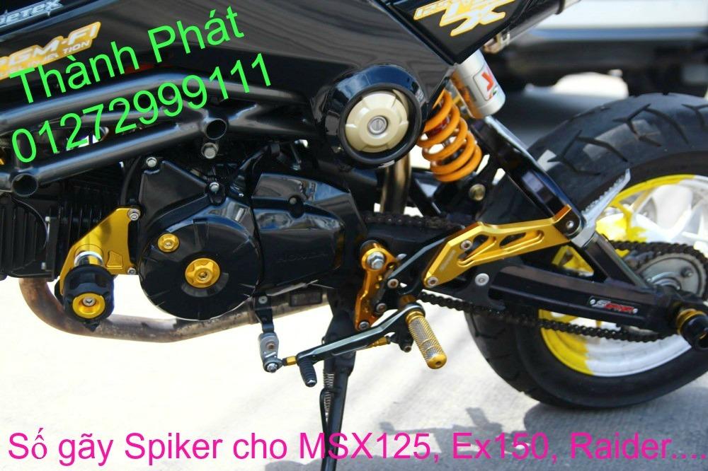 So gay gac chan sau cho Ex150 Ex2011 MSX125 FZ150i Raider KTM DukeUp 1192015 - 49