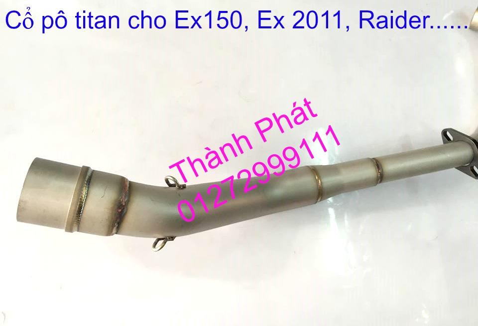 Do choi Exciter 150 tu A Z Po do Chan bun sau kieng kieu Bao tay Tay thang Xinhan kieu S - 42