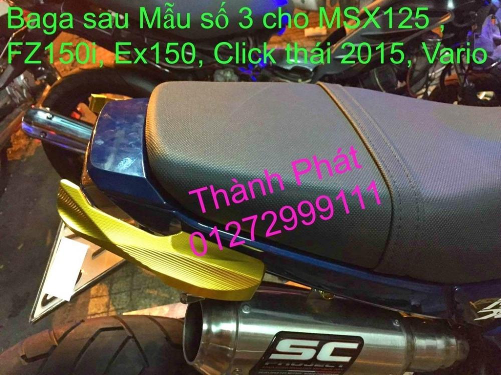 Do choi Honda MSX 125 tu A Z Po do Kinh gio Mo cay Chan bun sau de truoc Ducati Khung suo - 44