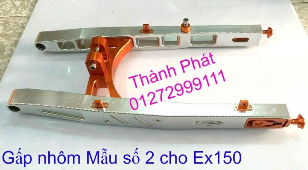 Do choi Exciter 150 tu A Z Po do Chan bun sau kieng kieu Bao tay Tay thang Xinhan kieu S - 18