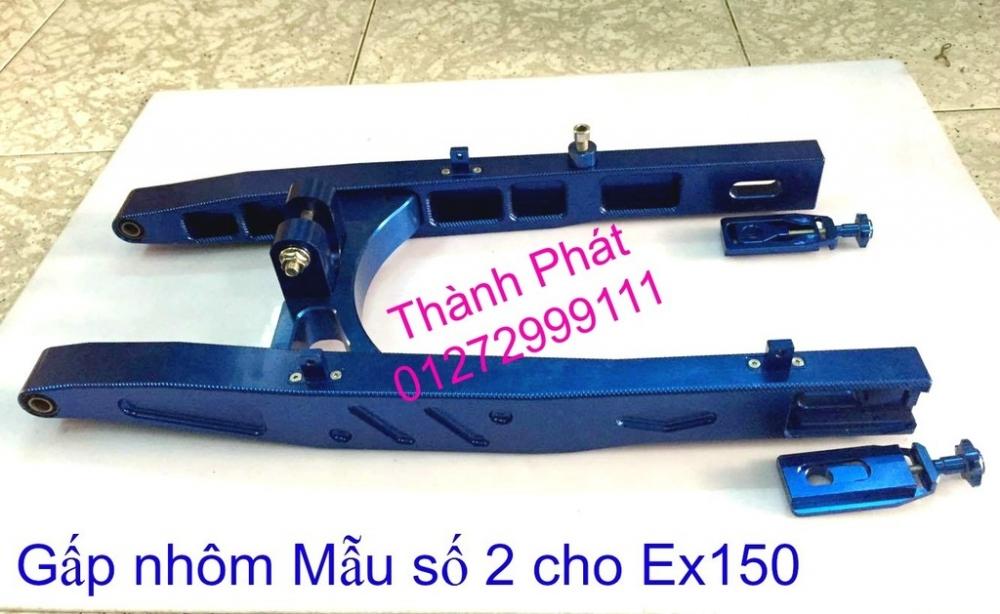 Do choi Exciter 150 tu A Z Po do Chan bun sau kieng kieu Bao tay Tay thang Xinhan kieu S - 20