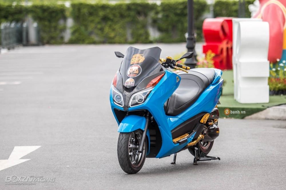 Honda Forza 300 do hang loat do choi biker day phong cach - 2