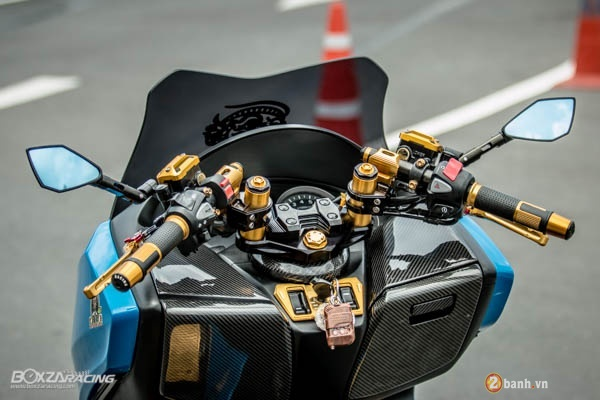 Honda Forza 300 do hang loat do choi biker day phong cach - 4