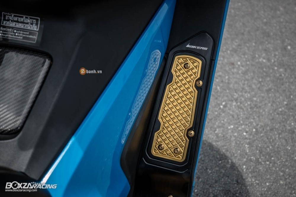 Honda Forza 300 do hang loat do choi biker day phong cach - 8