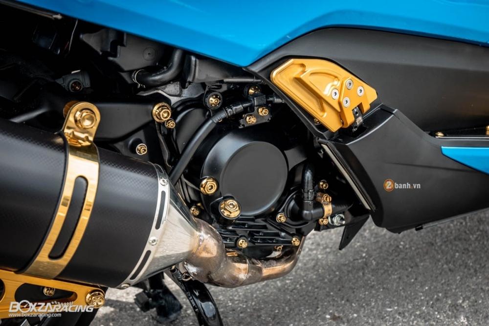 Honda Forza 300 do hang loat do choi biker day phong cach - 10