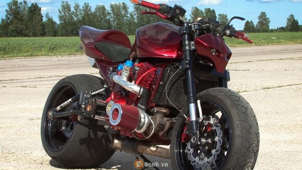 Kawasaki Z1000 ban do Turbo StreetFighter cuc gau