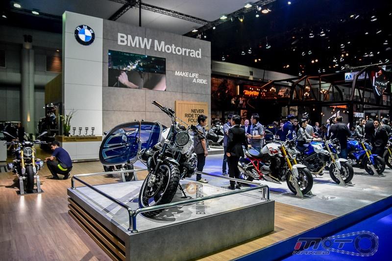 R Nine T Scrambler con at chu bai cua BMW tai trien lam Bangkok Motor Show 2016