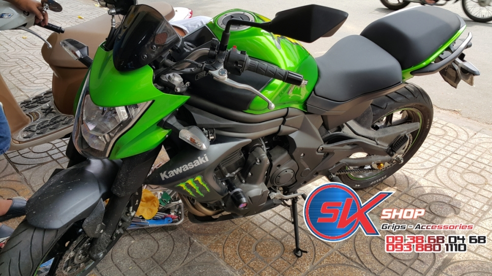 Sk Shop Chuyen Chong Do Rizoma Pkl Cho Z300z1000 Ymh R1r6 Fz1fz8 Cb1000 Cbr1000rr Bn302 Bj600 - 16