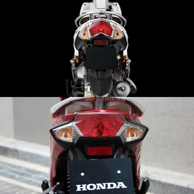 So sanh SYM Shark Mini 125 va Honda Vision 2016 - 3
