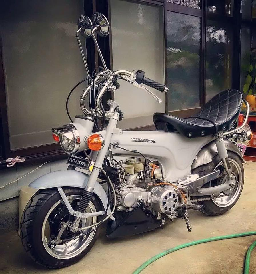 Tong hop nhung mau xe Honda DAX do cuc soc - 3