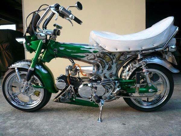 Tong hop nhung mau xe Honda DAX do cuc soc - 5