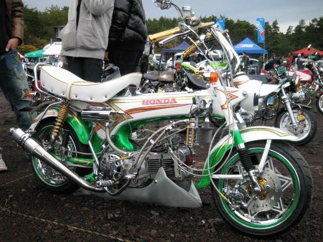 Tong hop nhung mau xe Honda DAX do cuc soc - 7