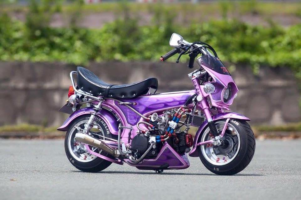 Tong hop nhung mau xe Honda DAX do cuc soc - 8