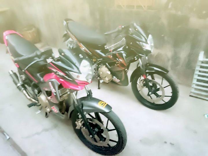 Up Suzuki Satria F150 tu con Raider cui bap - 5