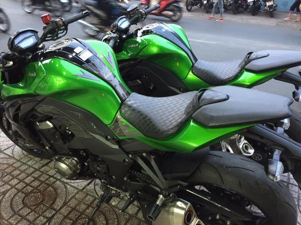 2 z1000 2015 ABS mau xanh chau auHQCNxe odo 2686 va 2868 KMchinh chugia cuc tot