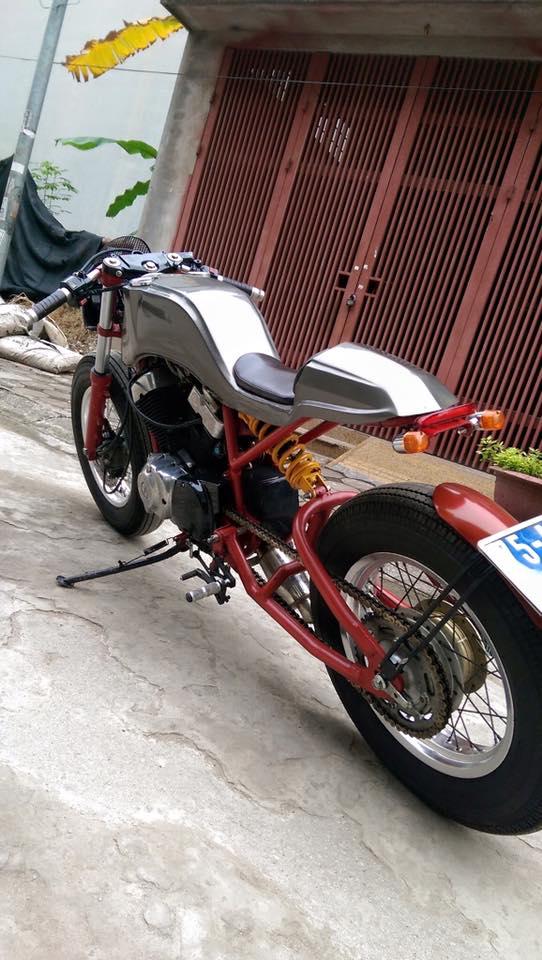 Ban Yamaha virago250 do Cafe Racer cuc doc