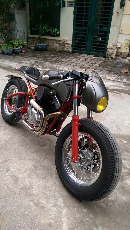 Ban Yamaha virago250 do Cafe Racer cuc doc - 6