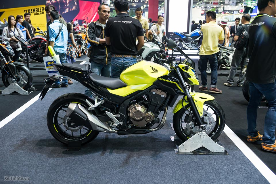 Can canh Honda CB500F 2016 gia 133 trieu dong tai Bangkok Motor Show - 3