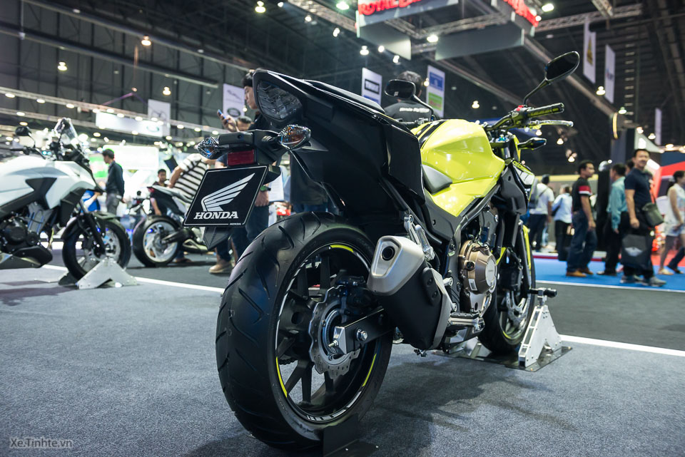 Can canh Honda CB500F 2016 gia 133 trieu dong tai Bangkok Motor Show - 16