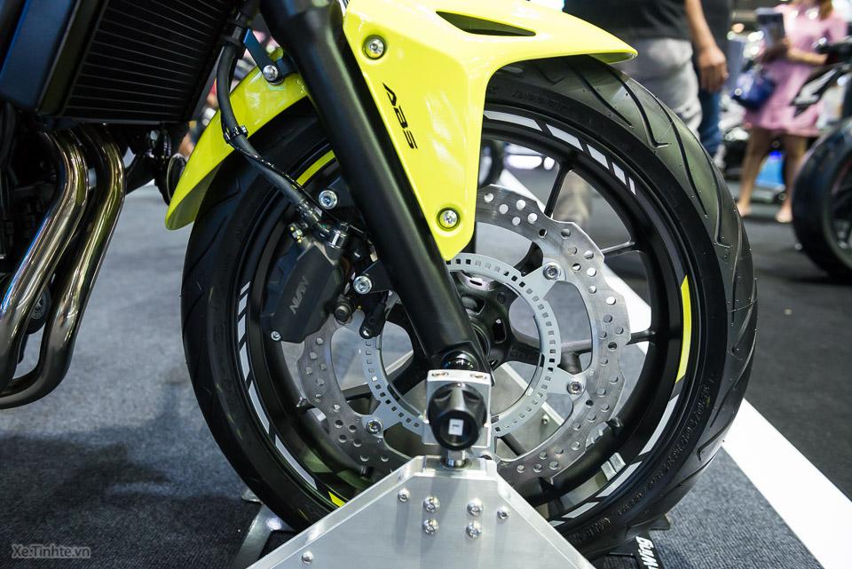 Can canh Honda CB500F 2016 gia 133 trieu dong tai Bangkok Motor Show - 17