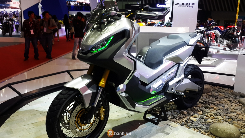 Chi tiet Honda City ADV Concept mau xe tay ga da dia hinh tai VMCS 2016