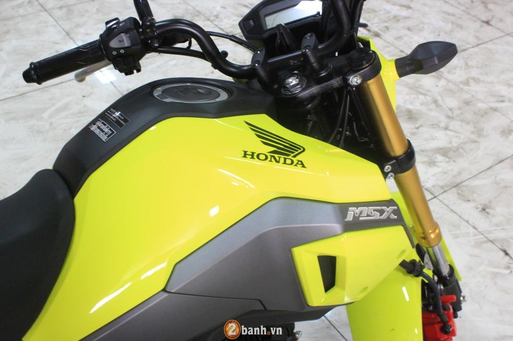 Chi tiet Honda MSX 125 2016 dau tien tai Viet Nam voi gia hon 80 trieu Dong - 5