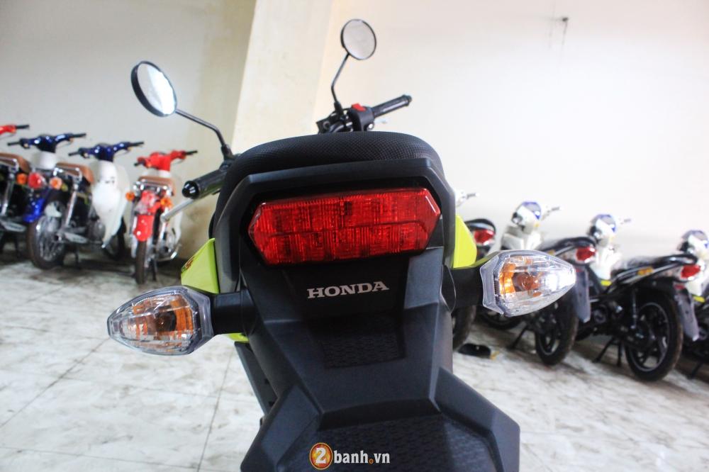 Chi tiet Honda MSX 125 2016 dau tien tai Viet Nam voi gia hon 80 trieu Dong - 19