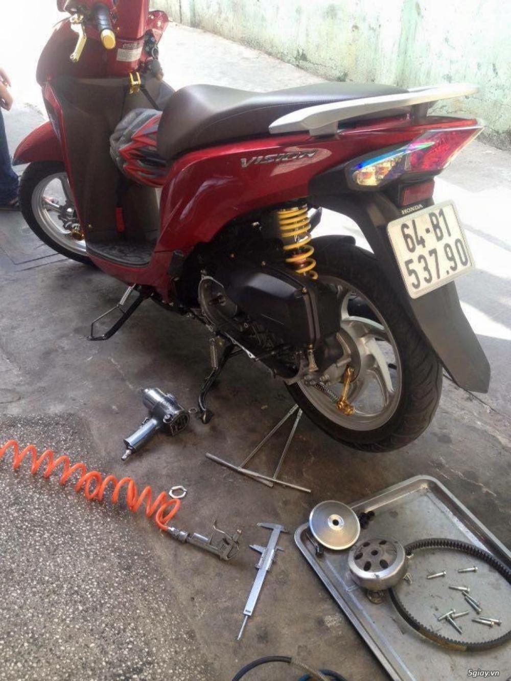 Chuyen Do Noi Xe Tay Ga Full Noi Noi Zin Bao Duong Ve Sinh Noi Cho Yamaha Honda Piago - 9