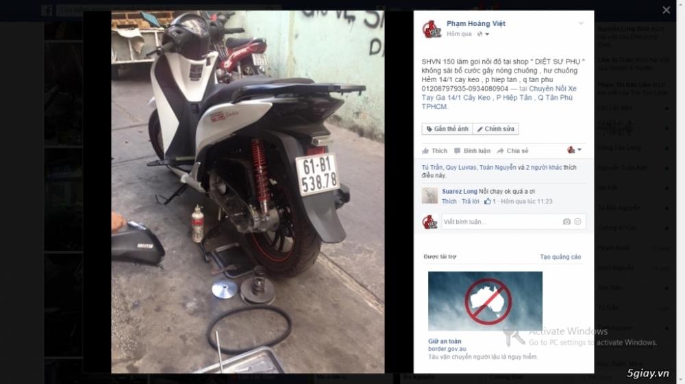Chuyen Do Noi Xe Tay Ga Full Noi Noi Zin Bao Duong Ve Sinh Noi Cho Yamaha Honda Piago - 11