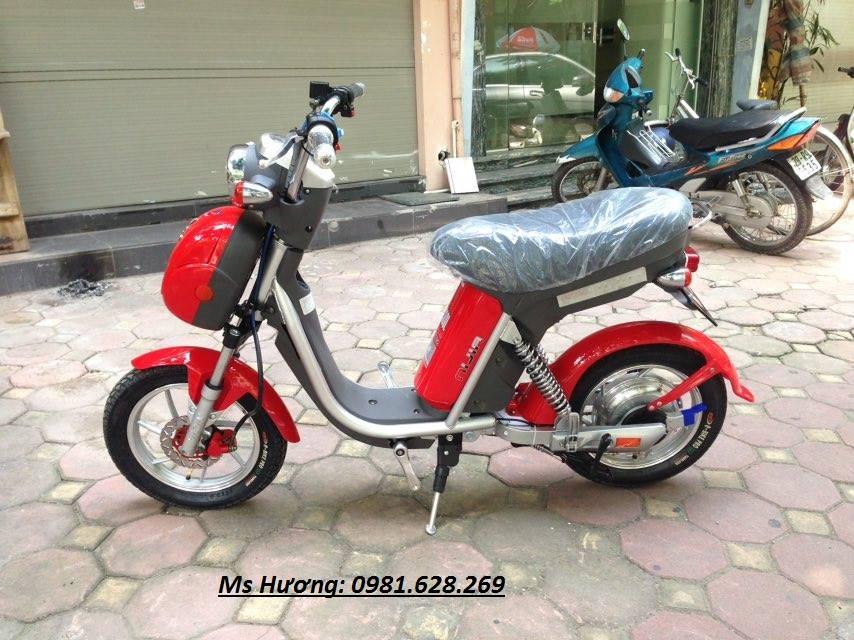 Cua hang xe may dien chuyen cung cap cac loai Nijia Giant m133 Vespa946 Milan II Chinh Hang