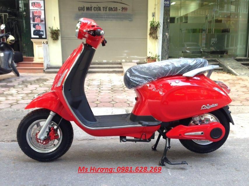 Cua hang xe may dien chuyen cung cap cac loai Nijia Giant m133 Vespa946 Milan II Chinh Hang - 5