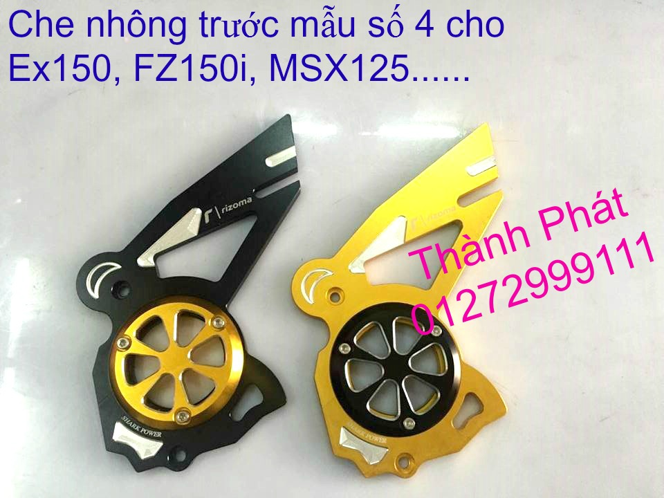 Do choi Exciter 150 tu A Z Po do Chan bun sau kieng kieu Bao tay Tay thang Xinhan kieu S - 40