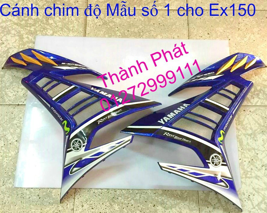 Do choi Exciter 150 tu A Z Po do Chan bun sau kieng kieu Bao tay Tay thang Xinhan kieu S - 29